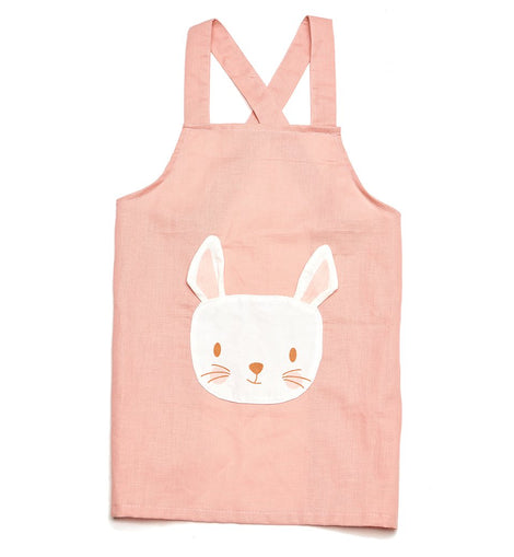 ThreadBear Design - Rabbit Linen Apron