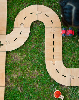 Storybook - Wooden Street Play Track