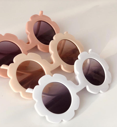 Petite Bohème - Wildflower Sunnies - Available Colours: White/Pink/Cream