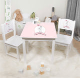 Personalized Table with 2 Chairs - pre order