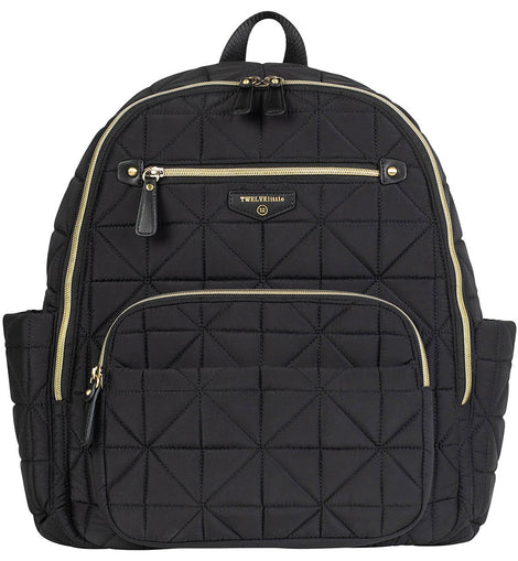 TWELVElittle - Companion Diaper Backpack - Black