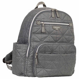 TWELVElittle - Companion Diaper Backpack - Denim