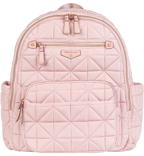 TWELVElittle - Companion Diaper Backpack - Blush Pink
