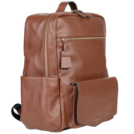 TWELVElittle - Peek A Boo Backpack Diaper Bag - Toffee