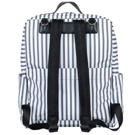 TWELVElittle - Peek A Boo Backpack Diaper Bag - Stripe