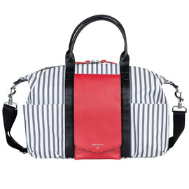 TWELVElittle - Peek-A-Boo Satchel Diaper Bag - Stripe