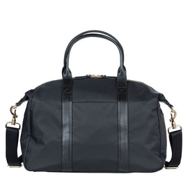TWELVElittle - Peek-A-Boo Satchel Diaper Bag - Black