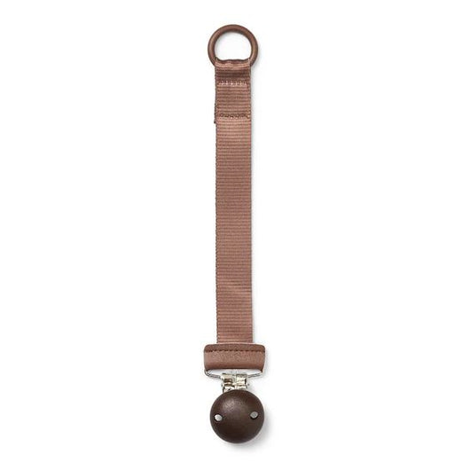 Elodie Pacifier clip Chocolate