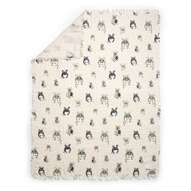 Elodie Soft Cotton Blanket - Forest Mouse