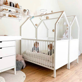Pre Order House Crib (can be 100% customised upon order )