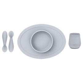 Ezpz - First Food Set - Pewter