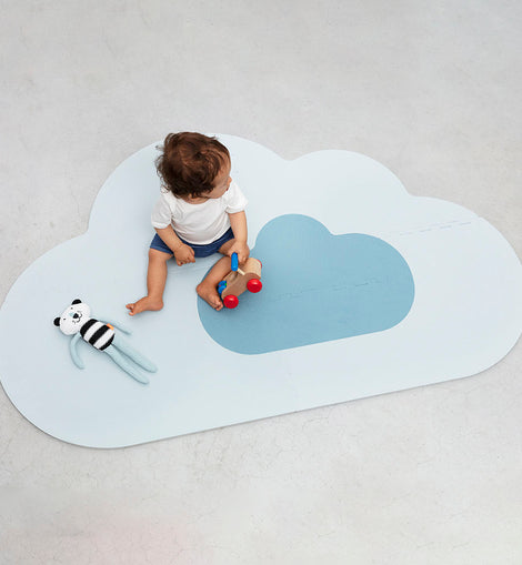 Quut - Playmat Cloud Small- Dusty Blue