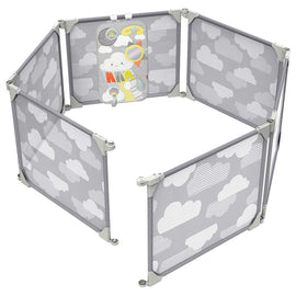 Skip Hop - Playview Expandable Enclosure - Grey Clouds