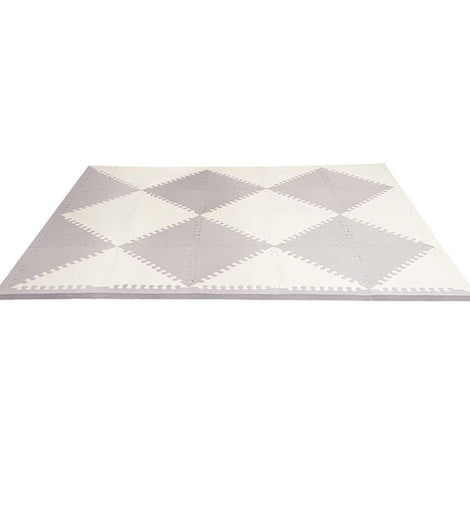 Skip Hop - Playspot Geo Floor Tiles - Grey & Cream