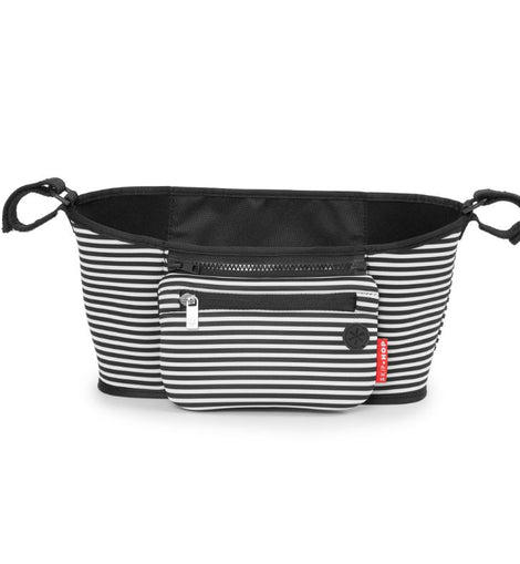 Skip Hop - Grab & Go Stroller Organizer - Black/White Stripes