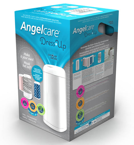 Angelcare - Dress Up Nappy Disposal System - White