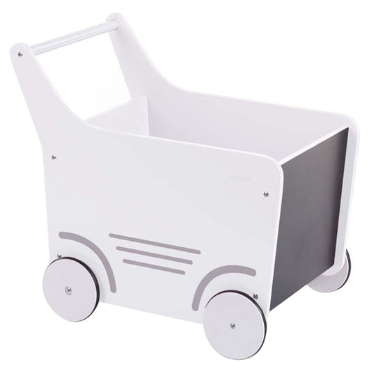 Childhome - Wooden Stroller - White