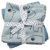 Done by Deer - Burp cloth, 2-pack, contour