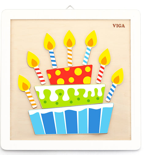 Viga - DIY - Painting Set - Birthday Cake