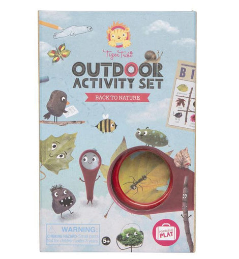 Tiger Tribe -Outdoor Activity Set - Back to Nature