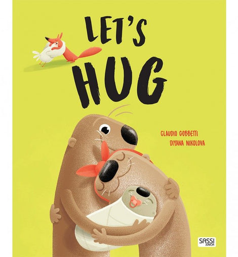 Sassi - Picture Book - Let's Hug