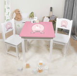Personalized Table with 2 Chairs