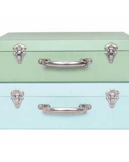 Storage Suitcase - Blue