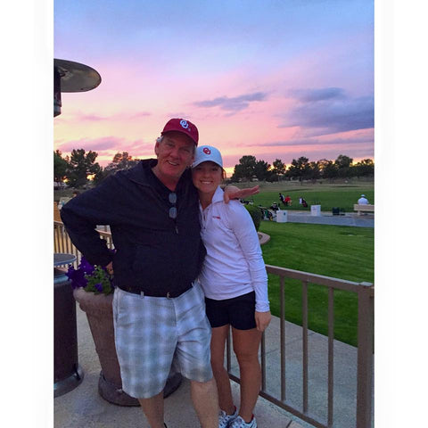 Don Wood Golf IQ helped daughter, Hannah Wood