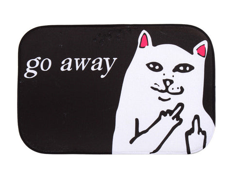 Cat Fleece Doormat