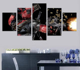 Limited Edition Deadpool 5 Piece Canvas - Gear Extra