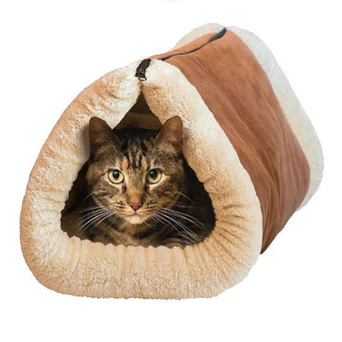 2 In 1 Foldable Pet Bed & Tunnel [60% OFF + Free 2-DAY Shipping!] - Gear Extra
