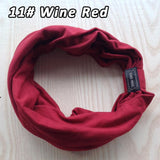 Hand Made Cotton Elastic Sports Wide Women Headbands