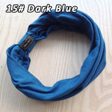 Hand Made Cotton Elastic Sports Wide Women Headbands - Gear Extra