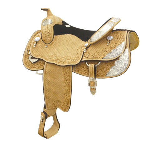 Denton County Show Saddle by Billy Cook Saddlery