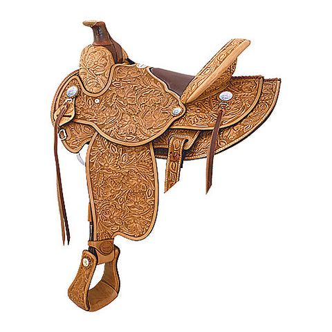 All American Saddles High Desert Ranch Roper Saddle by Billy Cook Saddlery