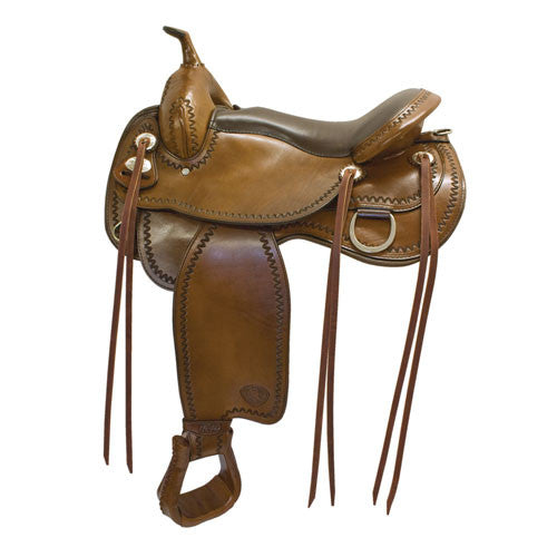 All American Saddles Bozeman Flex Trail Saddle by Tex Tan