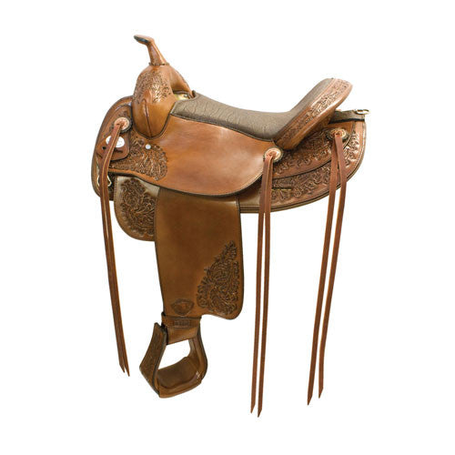 All American Saddles Butte Flex Trail Saddle By Tex Tan