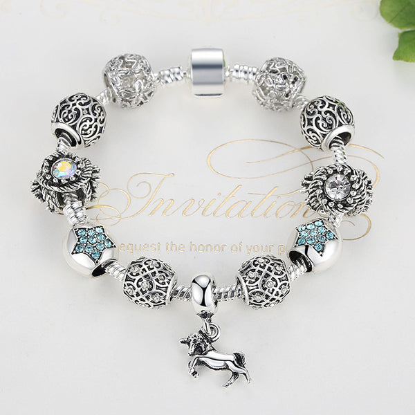 Stylish and Flashy Horse Charm Bracelet (Limited Supply)