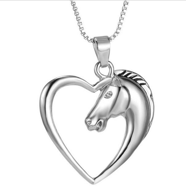Sleek Silver Lovable Horse Necklace (LIMITED SUPPLY)