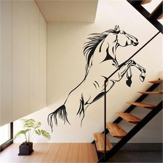 Sporty Jumping Horse Wall Vinyl Decal (Limited Supply)