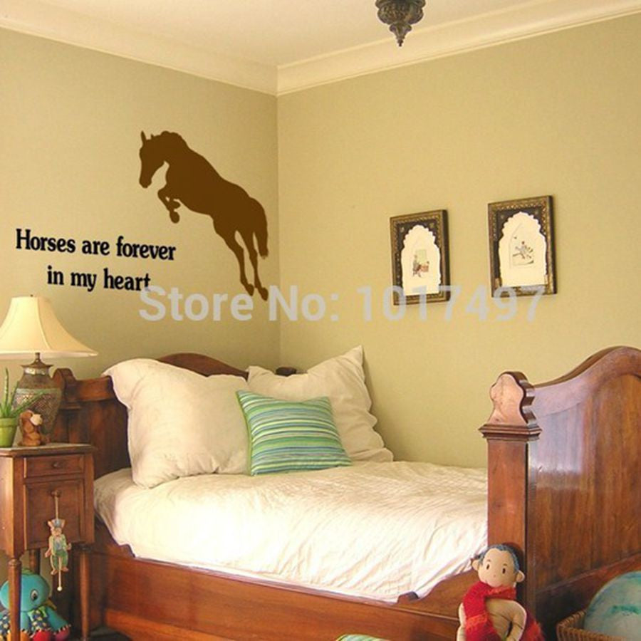 Horses Are Forever In My Heart Wall Art