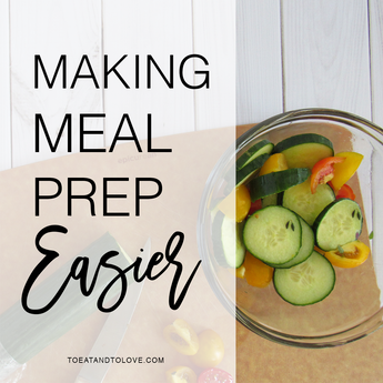 Making Meal Prep Easier