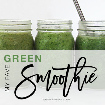 I Drink this Green Smoothie EVERY Day