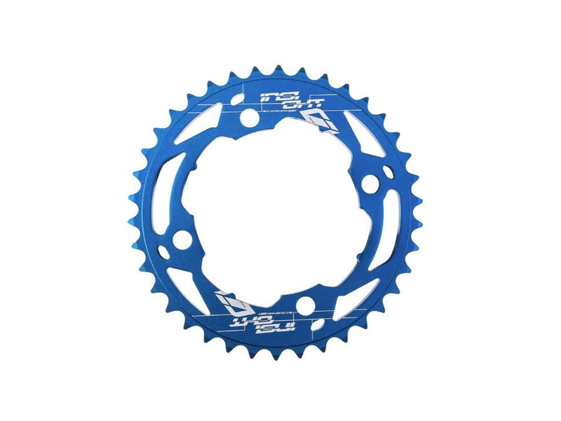 INSIGHT 104MM BLUE CHAINRINGS