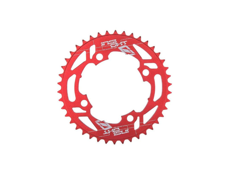 INSIGHT 104MM RED CHAINRINGS