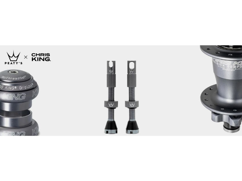 PEATY's x Chris King MK2 Tubeless Valves