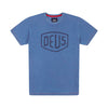 DEUS EX MACHINA Shield Indigo Tee - Legend Bikes