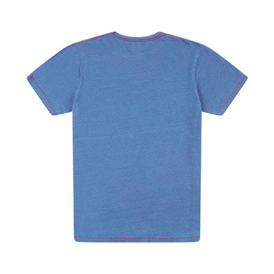 DEUS EX MACHINA Engine Indigo Tee