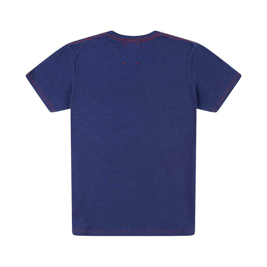 DEUS EX MACHINA All Caps Indigo Tee