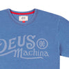 DEUS EX MACHINA Engine Indigo Tee - Legend Bikes